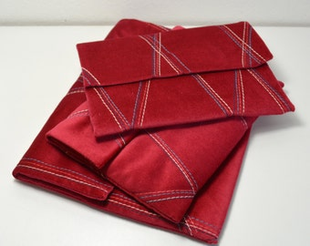 """Geometric sleeve , cover for 7"""" tablet or reader ."""