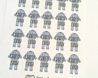 Lazy Day Planner Stickers!