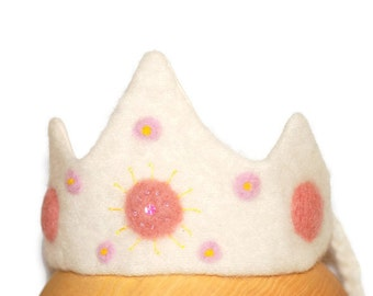 WALDORF Birthday Crown | Magic wand | Party Costumes Set | Pink Crown | Shabby Chic Party | Party Crown | Crowns | Pastel Crown