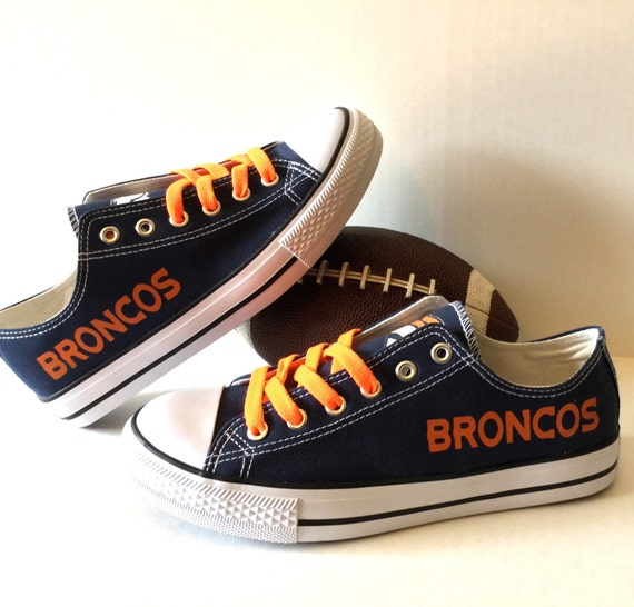 denver broncos s athletic shoes by sportzunlimited