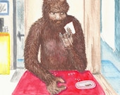 A Day in the Life of Bigfoot Set of 5