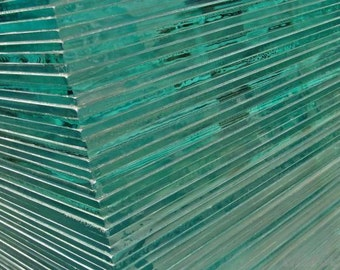 "ANY SIZE Up To 16""x20"" (2mm Thickness ONLY) Custom Cut-To-Size Glass Panes / Lites / Sheets / Replacements"