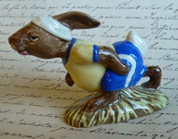 Price Reduction ~ BUNNYKINS ROYAL DOULTON ~ Jogger ~ Vintage