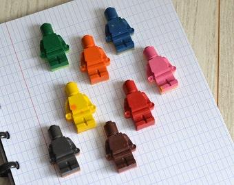 Wax crayons Lego® inspiration