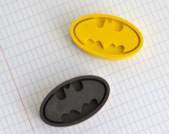 Set of wax crayons Batman or Superman