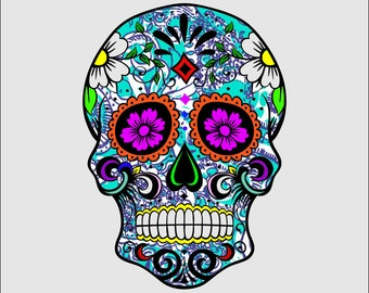 Lilly Sugar Skull  ***Free Shipping***