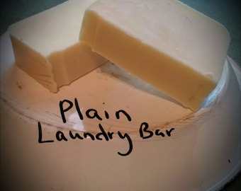 Laundry bar-cold process all natural,gluten free,palm oil free,dye fee,vegan