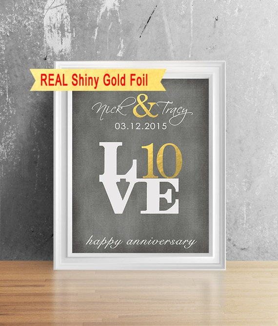 Gift Ideas For 10th Wedding Anniversary For Him : ... Gift For Him, Her, 10th Anniversary Gift For Men, Anniversary Gift For