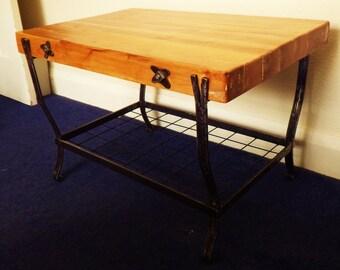 Handmade cafe table