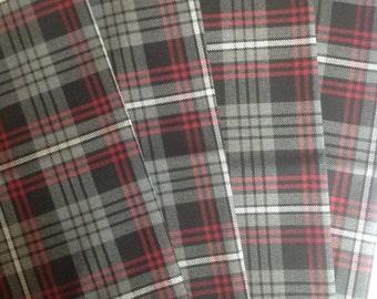 "Auld Lang Syne Tartan Scottish Napkins 17"" x 17"" Set of 4"
