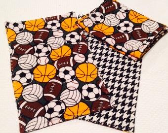 Sports Baby Burp Cloth