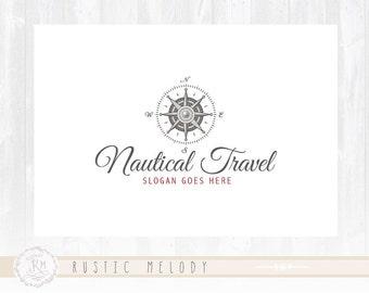 Travel Logo Design Nautical Logo Boutique Logo Watermark