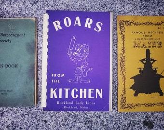 Cookbooks from Camden Maine