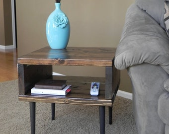 Modern Rustic Side / End Table