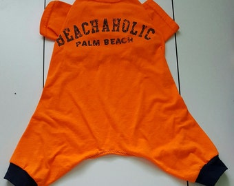 Dog Jammies Medium Beachaholic T-shirt Jammies