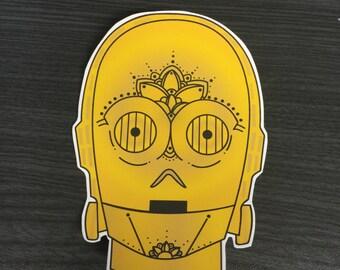 C3PO Sticker