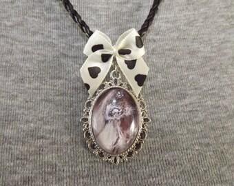 Tim Burton's Corpse Bride Cameo Necklace