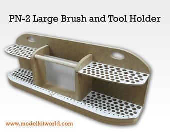 Large Brushes and Tools Holder - Workshop / Workstation / Art Studio