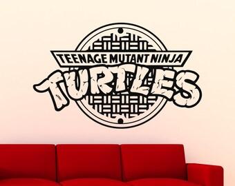 Ninja Turtles Logo Etsy