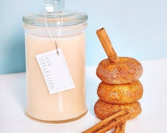 Cinnamon Donuts Scented Candle