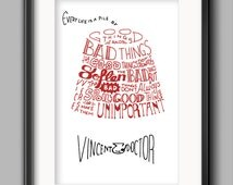 Doctor Who Printable - Van Gogh Quote