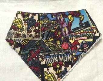Avengers Bandana dribble bib
