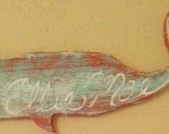 Custom ocean creature art