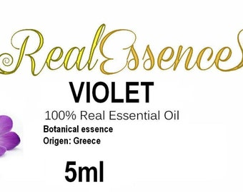Violet oil 100% natural pure essential biological cultivation