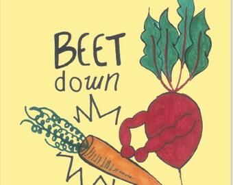Beet Down - Sticker