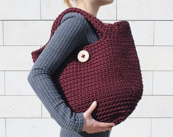 Crocheted ToTe Bag