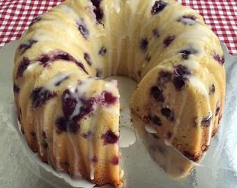 Blueberry Muffin Pound Cake