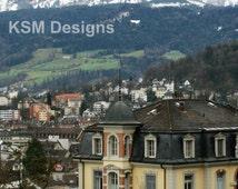 Lucerne, Switzerland Print