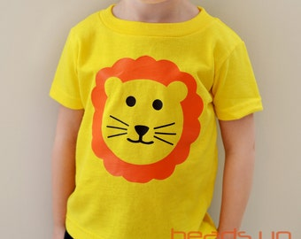 Lion Shirt Toddler Boy/Girl - Toddler Boy Lion tshirt - Baby Bodysuit Lion - Zoo Animals t shirt - Lion Costume Baby Boy/Girl - Youth/Adult