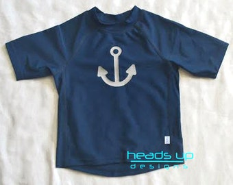 Baby rash guard etsy for Baby rash guard shirt
