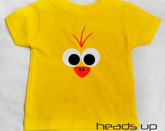 Easter Baby Bodysuit - Easter tshirt Toddler - Chick Shirt Toddler Boy - Toddler Girl Easter Chick t shirt - Duck Costume - Trendy Easter