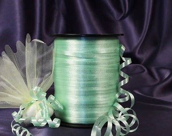 Mint Green Curling Ribbon
