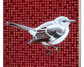 Arkansas Mockingbird Panel