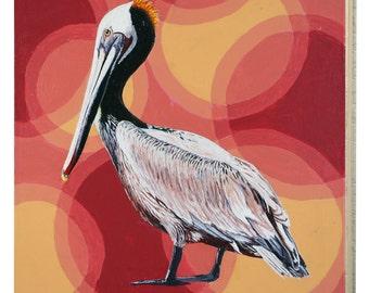 Louisiana Brown Pelican Panel