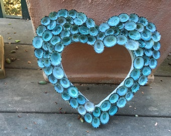 Limpet Shell Heart - sold