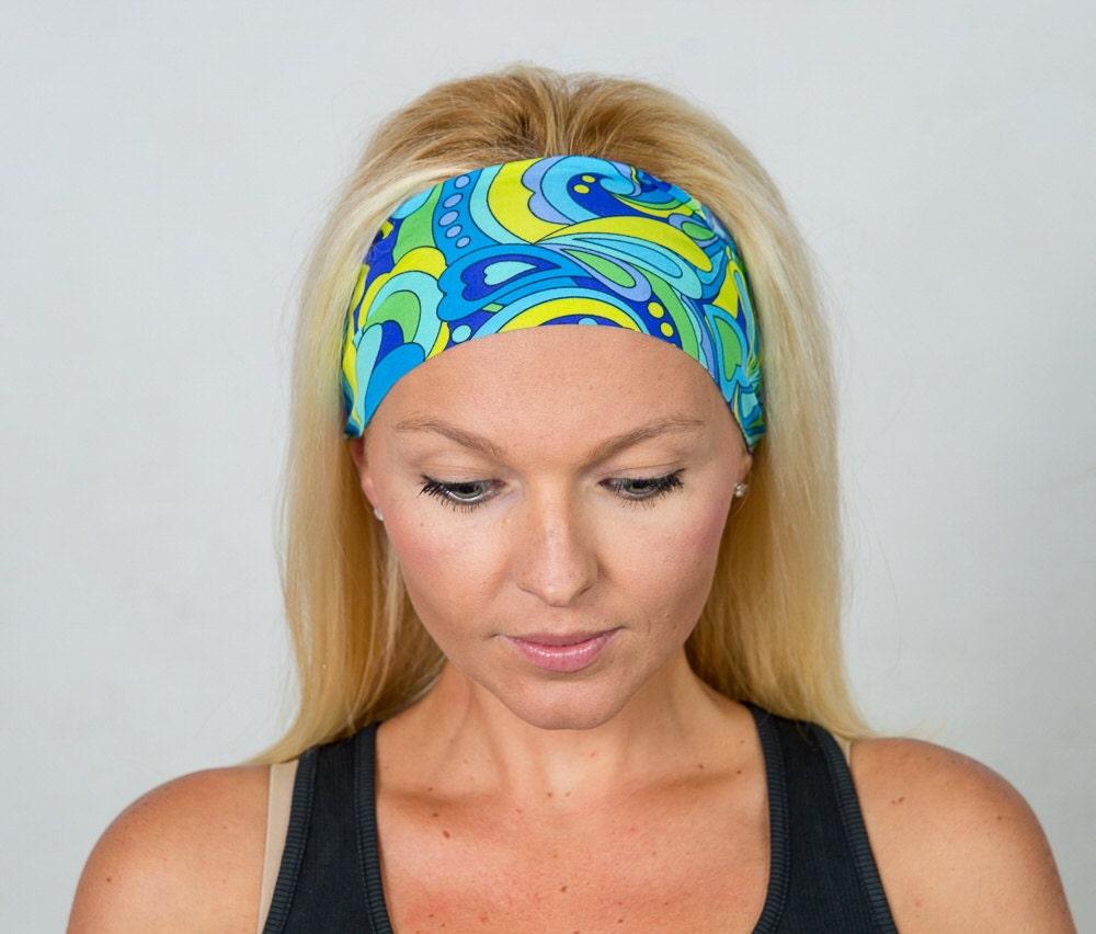 Fashion Headbands: Bohemian Headband Fashion Headband Fitness Headband Head Wrap