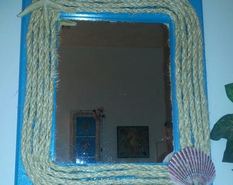 Beach Themed Mirror