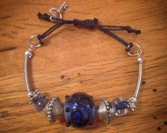 Handmade Adjustable Cord Bracelet