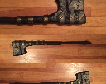 Post apocalyptic boffer axe