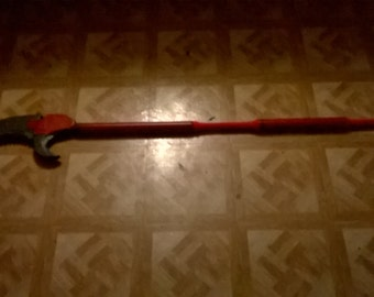 "larp safe 70in ""limb trimmer"" polearm"