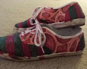 Freddy Krueger Slip-on Shoes