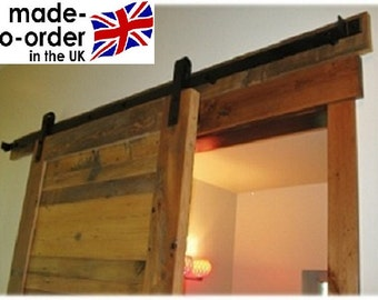 Hand made rustic timber Up-cycled to barn door