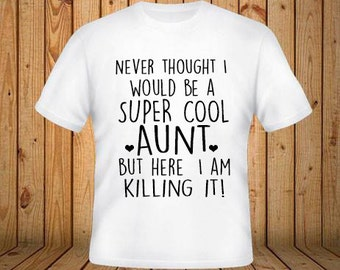 Aunt shirt | Etsy