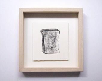 """printmaking """"toast"""""""
