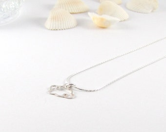 Cloud I delicate necklace I Silver 925