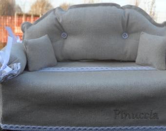 """Kleenex"" type small sofa tissue box cover"
